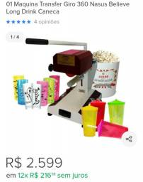 Vendo Maquina de personalizaçao