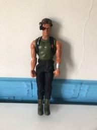 Boneco Max Steel Espião anos 90