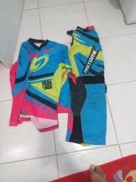 Vendo equipamentos de trilha motocross