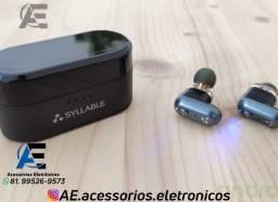Fones de Ouvido Bluetooth Syllable s101 - Entregamos e Aceitamos Cartões