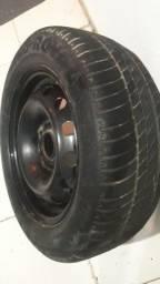 Título do anúncio: Aro com pneus  zero  15