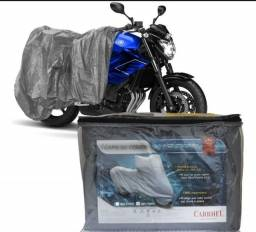 Capa de cobrir moto com forro para todas as motos P M G