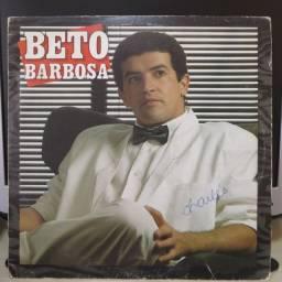 Lp Disco de Vinil Beto Barbosa (1988)