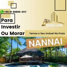 Flat no Nannai Residence Muro Alto, Porto de Galinhas Terreo