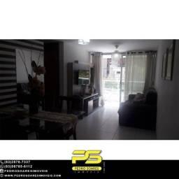 (MOBIALIDO) Apartamento com 2 dormitórios para alugar, 64 m² por R$ 2.000/mês - Tambaú - J