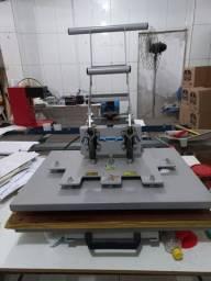 Prensa termica 50x70 manual 220V Maquinatec