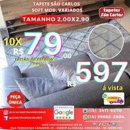 Tapete São Carlos Soft 2,00x2,90
