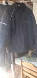 jaqueta e calça motoqueiro
