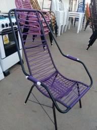 Cadeira de fibra simples