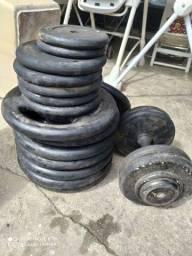 Peso para musculação Anilhas Barato
