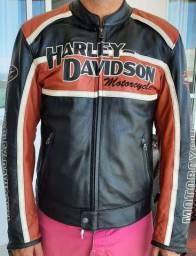 Jaqueta de couro original HARLEY DAVIDSON, tamanho M