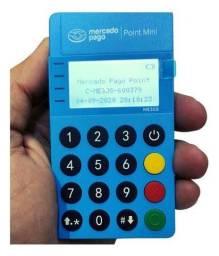 Maquininha Modelo ME30S point mini Blue Visor Led