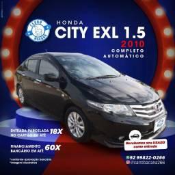 Título do anúncio: Honda City 1.5 EXL Automático 2010
