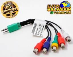 Cabo Adaptador Av Componente Tv Samsung Led Lcd P1 P2 5 Rca Bn39-01154w