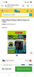 Filtro de aquário EHEIM HANG ON 570L excelente filtragem pra seu aquário, mas os Enfeites.
