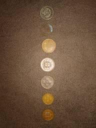 Lote, moedas portuguesas e do Império Brasil