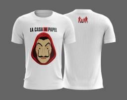 Camisas La Casa de Papel Masculino e Feminino