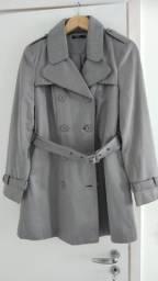 Trench Coat cinza