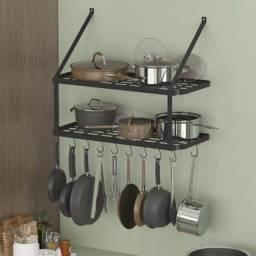 paneleiro prateleira em ferro