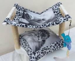 Título do anúncio: Móveis artesanais para conforto do seu gatinho.