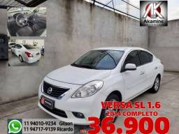 Nissan - Versa 1.6 SL - 2014 - Completo