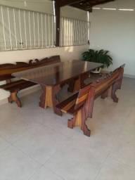 Linda mesa de ardósia de 2 metros