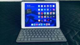 Ipad 6ª geração Wi fi 32 g + capa teclado original Logitech