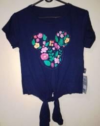 Camisa Mickey veste P e M