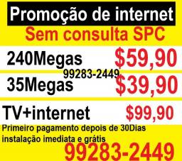 Internet internet sem consulta SPC internet