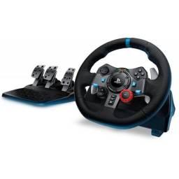 Volante Logitech G29 Driving Force para PS3/PS4/PC - Lacrado na Caixa