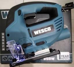 Título do anúncio: Serra Tico Tico 850W 6 velocidades Wesco 110vts