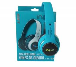 Título do anúncio: Fone de Ouvido Inova Bluetooth Estéreo com Led