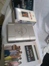 Box de dvds séries e filmes