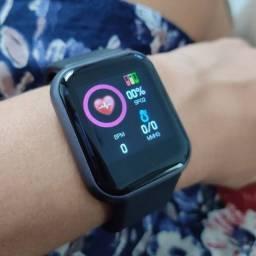 Relógio Inteligente Smartwatch D20 FOTO NA TELA _ FRETE GRÁTIS