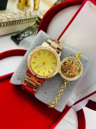 Relógio feminino resistentes