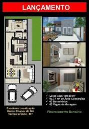Título do anúncio: Casa para venda possui 70 metros quadrados com 2 quartos em 23 de Setembro - Várzea Grande