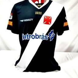 Camisa Vasco da Gama Penalty Preta 2021 Eletrobrás