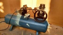 Compressor 100 litros 14 pés monofásico
