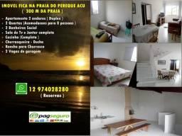 Apartamento Ubatuba 350 m da praia