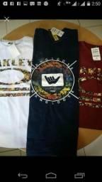 Kit 3 camiseta marcas