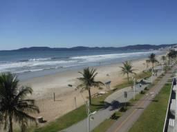 Cobertura frente para a praia com 5 ar - Meia Praia