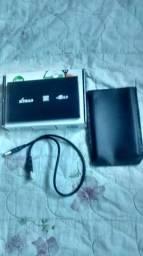 HD externo de 500GB com jogos para ps2 e Memory card com OPL instalado