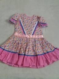 Vestido Caipira P. Barra do Piraí