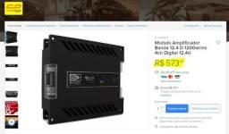 Módulo de potência Banda 1200Rms M/S Leia o Anuncio!