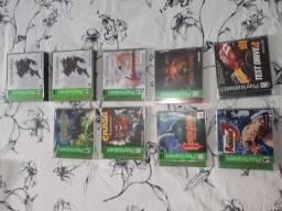 Troco por PS4 Coleção PS2 PS1 Lacrados Castlevania Mortal Kof Harvest Moon Street Fighter comprar usado  São Paulo
