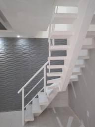 Escada Espinha de peixe pré moldada