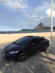Honda Civic EXR 15/16 com GNV Top de Linha - 2016