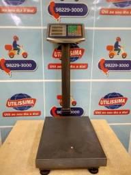 Balança Digital 150kg Plataforma Piso Reforçada [entrega grátis] *