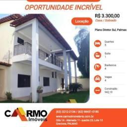 Oportunidade Aluga, Casa/Sobrado 5/4, Quadra 110 Sul