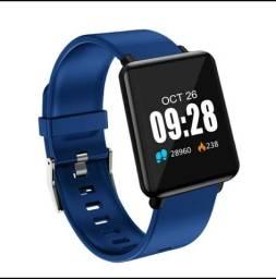 Smartwatch fitness! whatssap! *e monitor cardíaco